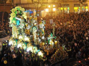 Cabalgata de reyes Magos Sevilla
