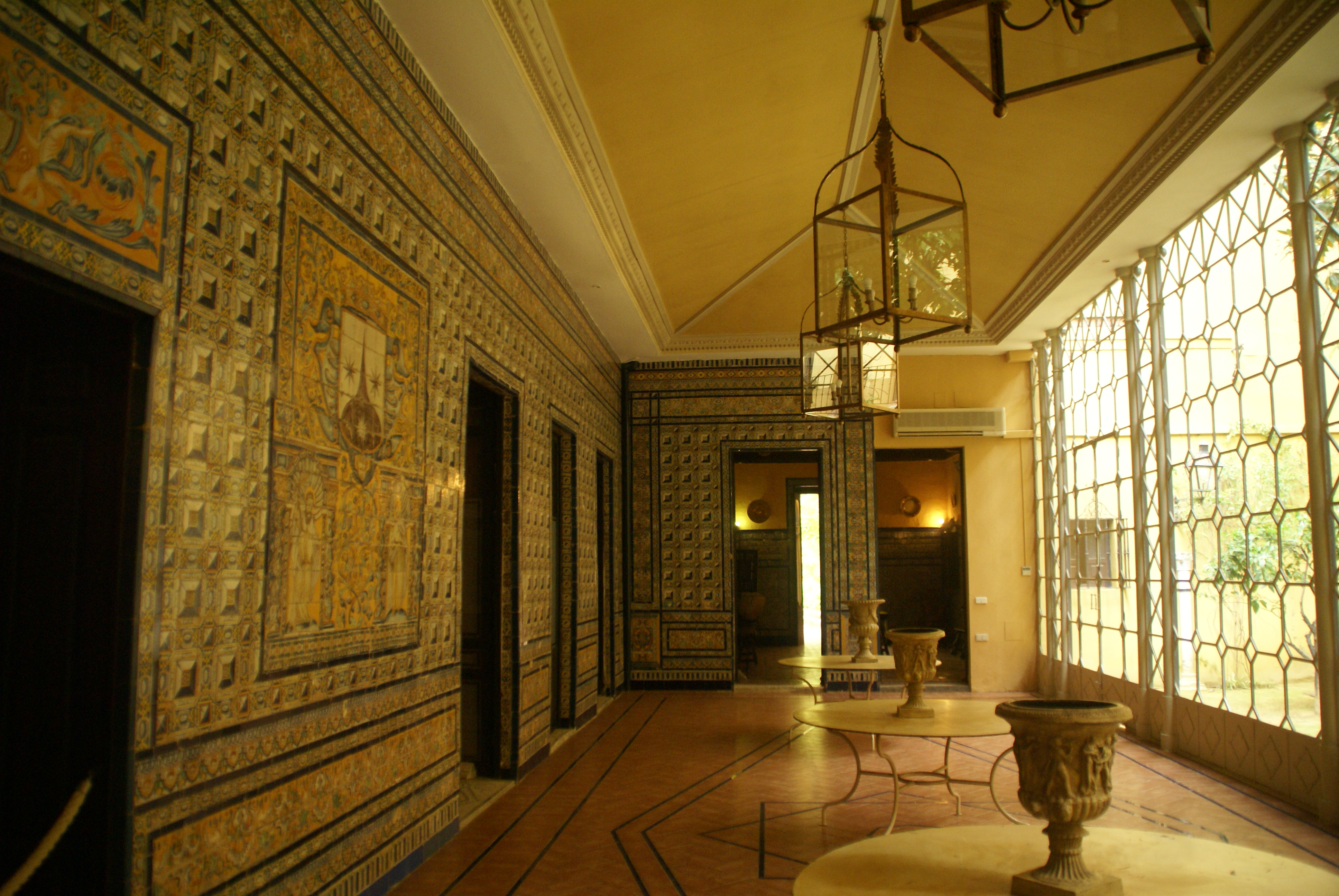 Casas palacio sevillanas un placer para los sentidos descubra sevilla - Hotel en lebrija ...